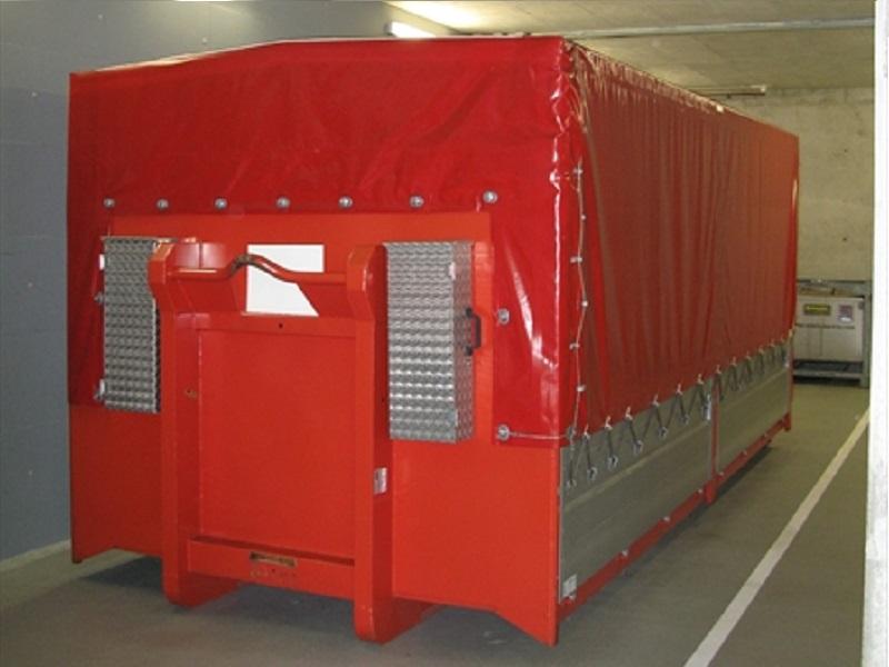 Abrollbehälter - Transport AB-Transport