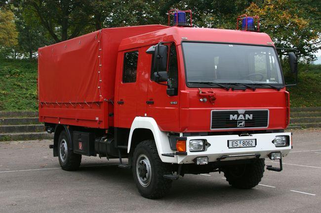 Dekontaminations-lastkraftwagen Personen Dekon-LKW P