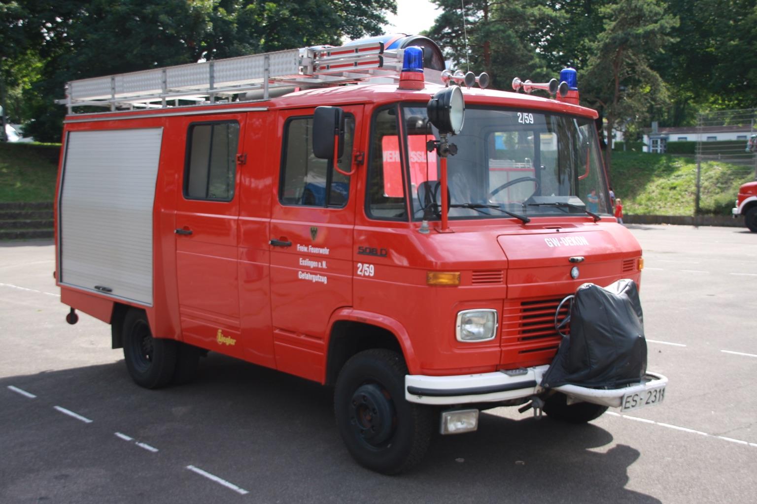 Gerätewagen Dekon GW-DEKON