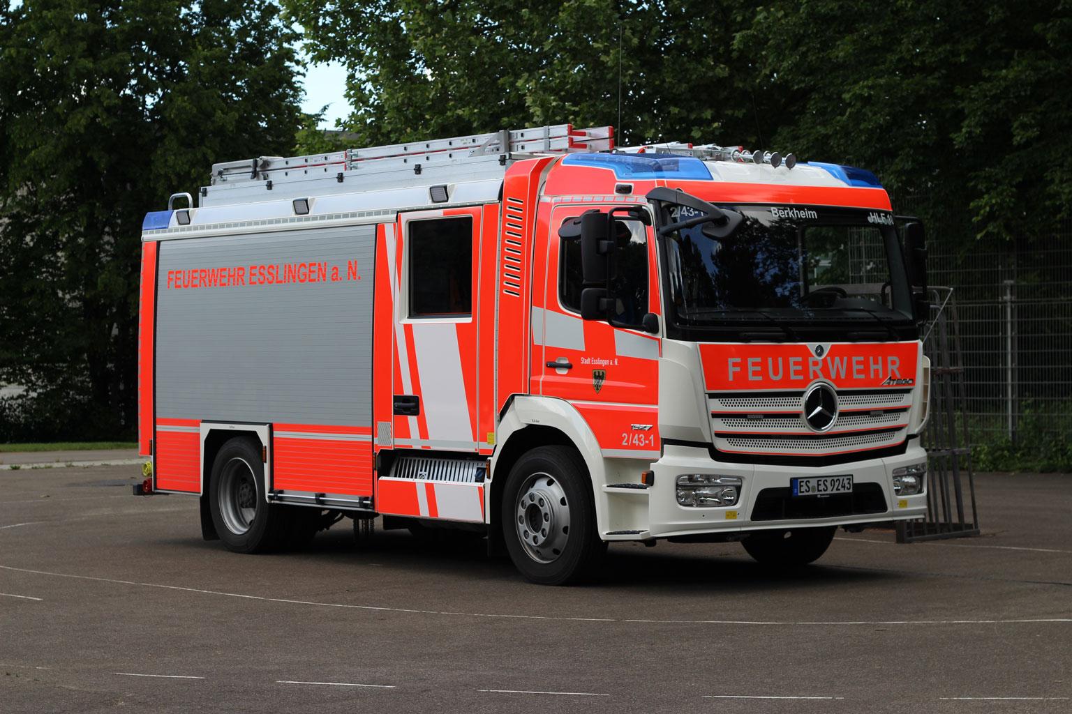 Hilfeleistungslöschgruppen-fahrzeug HLF10